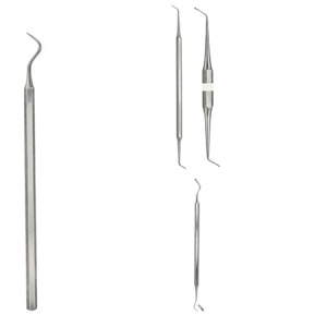 Plastic Filling Instruments and Exaxial Set